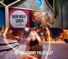 Levin uusissa brändikuvissa - messuseinä ja nettisivut // Levi brand images #modeling #MarikaWork ©LevinMatkailu