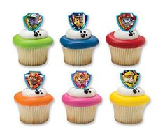 DecoPac 36391 Paw Patrol Ruff Rescue Cupcake Rings 12 Count -- Click on the image for additional details. (This is an affiliate link) #DecoratingTools