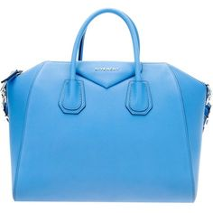 GIVENCHY 'Antigona' tote (€1.890) ❤ liked on Polyvore featuring bags, handbags, tote bags, purses, bolsas, bolsos, blue tote, pocket tote, givenchy handbags and zip top tote bag