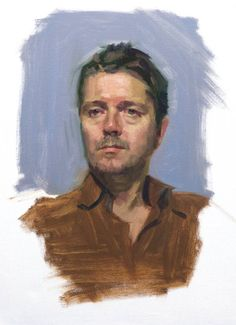 Simon Sky Arts Portrait Artist of the Year Louis Smith