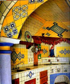 Mexican Style Kitchens and Photos The Small Kitchen Design and ...