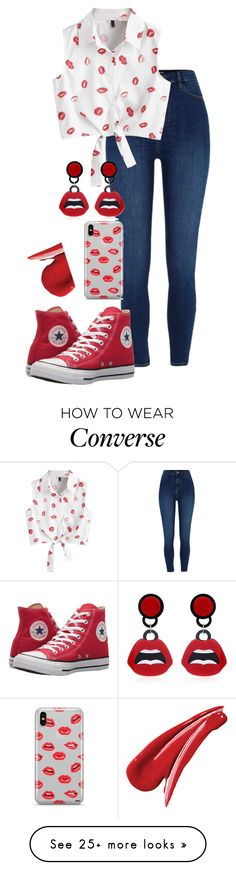 """""""Untitled #1640"""" by twisted-magic on Polyvore featuring River Island, Converse and Samsung"""