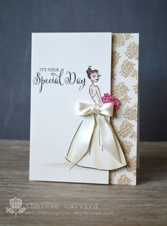 Lostinpaper - Penny Black - Special Day wedding card