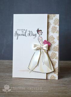Lostinpaper - Penny Black - Special Day wedding card