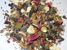 """Räuchermischung """"Seelenbalsam"""" mit Styrax, Orangenschalen, Rosenblüten, Lavendel,...."""