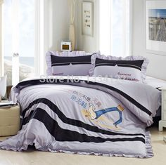 Find More Bedding Sets Information about High quality Fashionable childishness foot 4 pieces bedding set,High Quality Bedding Sets from Amymoremore mall on Aliexpress.com