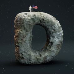 The Sculpted 3D Alphabet • FOREAL