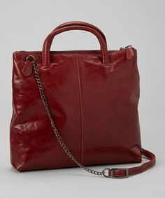 Take a look at this Red Gia Crossbody Bag by Latico Leather on #zulily today!