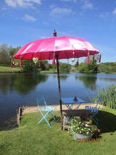 Pink Umbrella ......