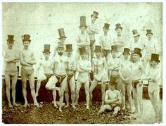Brighton Swim Club, 1863    http://www.retronaut.co/2012/06/brighton-swimming-club-1863/