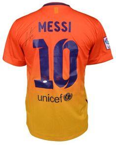 Lionel Messi Signed Barcelona Jersey - Sports Memorabilia