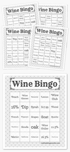 Play virtual Double XP Bingo with your friends for free on any device. Customize the bingo cards and generate printable or virtual bingo cards for free. Wine Tasting Party, Wine Parties, Tea Parties, Free Printable Bingo Cards, Free Printables, Wedding Bingo, Bingo Card Generator, Tea Party Games, Wine