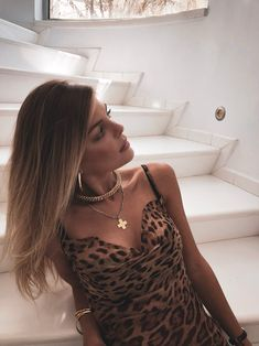 Iro Kalemi (@hiroine) in Rat and Boa   #ratandboa #leopardprint #hiroinetheblog