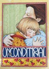 Handmade Fridge Magnet-Mary Engelbreit Artwork-Unconditional