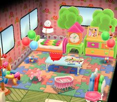 Cute pocket camp room! (Not mine)