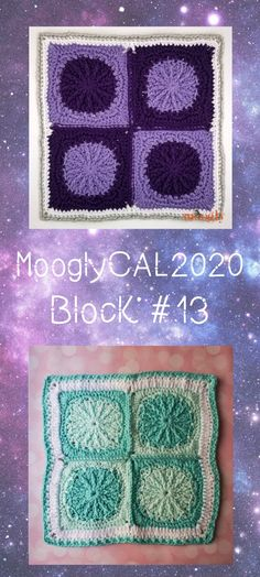 MooglyCAL2020 Block #13 comes to us courtesy of Marie Segares of Underground Crafter! Get the details and link to this free year-long crochet along!  #freecrochetalong #freecrochetpatterns #mooglyblog #mooglycal #mooglycal2020 #yarnspirations #redheartyarns #withlove #cal