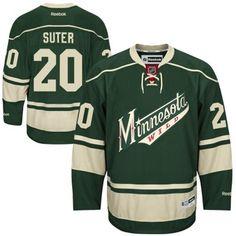 Reebok Ryan Suter Minnesota Wild Premier Player Jersey - Green f2c03491b