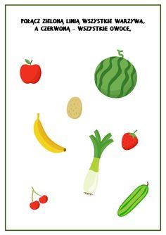 Owoce i warzywa - karty obrazkowe i zadania - Pani Monia Smoothie, Origami, Fruit, Anime, Inspiration, Cos, Memes, Speech Language Therapy, Biblical Inspiration