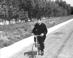 A priest, a cassock and a bike! Cinema Film, Cinema Movies, Film Games, Laurel And Hardy, Good Old Times, Twelfth Night, Old Pictures, Little Pony, The Past