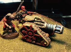 Chaos Renegade Scimitar V1-LD 3d printed Painted and ready for battle