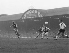 Roger Hunt scores against Inter Milan in the 1965 European Cup semi-final at Anfield.