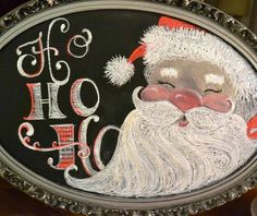 Santa Chalkboard