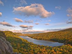 Procupine Mountains in Michgan's Upper Peninsula