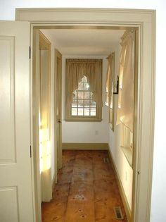 Classic Colonial Homes Second Floor Hallway