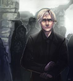 """Draco, Come."" This is a spoiler from the upcoming movie, and while I don't think this was in the book, the fact that Draco hows hesitance in joining Voldemort/His parents is an interesting quirk. ..."