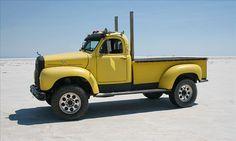"Mack Pickup truck #yellow Stacks ""A +"""