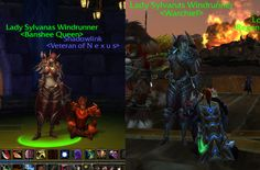 My first screenshot of Wow and the last one