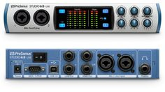 NAMM 2017: PreSonus Studio 68 - Audio Interface mit je 6 x In & Out - http://www.delamar.de/musik-equipment/presonus-studio-68-38680/?utm_source=Pinterest&utm_medium=post-id%2B38680&utm_campaign=autopost