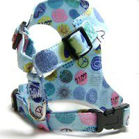 Blue Hearts and Peace Harness