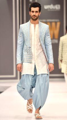 High Fashion Pakistan — Deepak and Fahad, Fashion Pakistan Week,. - High Fashion Pakistan — Deepak and Fahad, Fashion Pakistan Week,… - Mens Indian Wear, Mens Ethnic Wear, Indian Men Fashion, Mens Fashion Wear, High Fashion, India Fashion Men, Men's Fashion, Pakistan Fashion, Wedding Kurta For Men