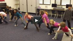 "Fourth graders created their own choreography for some of the dances from Act II of Tchaikovsky's ""The Nutcracker"" ballet. Here is Mrs. John's…"