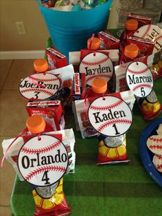 Team baseball party!!