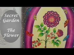 How To : Color Amazing Leaves | Secret Garden Coloring Book - YouTube