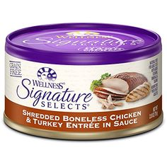 Wellpet Wellness Cat Signature Selects Shredded ChickenTurkey 2428oz ** Check out this great product.