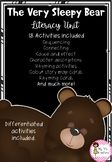 The Very Sleepy Bear Literacy Unit Rhyming Activities, Book Activities, Sleepy Bear, Very Sleepy, Sentence Building, Writing Resources, Literacy, The Unit, Education