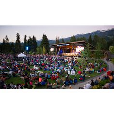 Whistler BC Canada | Summer Concert Series | Tourism Whistler ❤ liked on Polyvore