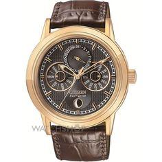 Herren Citizen Calibre 8730 Eco-Drive Uhr (BU0033-01E) - WATCH SHOP.com™