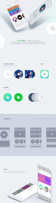 Naver Music on Behance