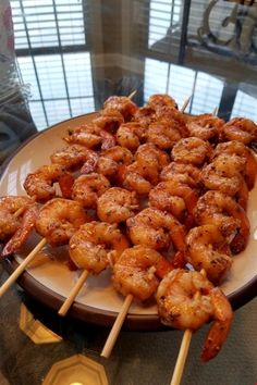 "360 reviews · 15 minutes · Gluten free · Serves 4 · Grilled Garlic and Herb Shrimp | ""These were delicious! A delicate marinade that enhanced the flavor of shrimp."" #dinnerideas #dinnerrecipes #familydinnerideas #shrimp #shrimprecipes #howtocookshrimp Shrimp Recipes For Dinner, Seafood Recipes, Seafood Appetizers, Think Food, I Love Food, Food Platters, Food Dishes, Food Porn, Food Goals"