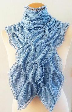 Looking for your next project? You're going to love Cable Leaf River Scarf  by designer Giezen Knitting. - via @Craftsy