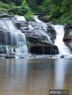 Hiking Panther Creek: one of Georgia's most beautiful & popular waterfalls