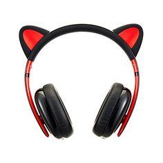 Censi Cat Ear Bluetooth Headphones, Over Ear Noise Cancel... https://www.amazon.com/dp/B01N9J7S2H/ref=cm_sw_r_pi_dp_U_x_inUDAb09YMAY6