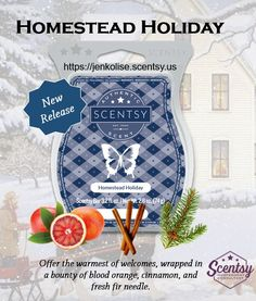 New Release Fall/Winter 2017  Check out my website at https://jenkolise.scentsy.us and like my FB page at https://www.facebook.com/WicklessJenKolise  #Scentsy #bloodorange #cinnamon #fir #holiday #Christams #wintere #newrelease