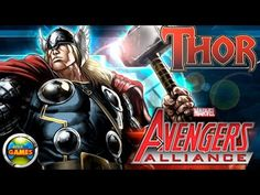 Marvel Avegers Alliance Thor - Todos Ataques