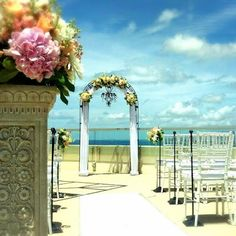 Whimsical Waikiki Wedding at #TrumpWaikiki. #WeddingWednesday #Waikiki #Hawaii #Luxury #OceanView #Destination #Wedding #Ceremony #Brides #Love #Romance #Events #EasleyDesigns  Trump International Hotel Waikiki Beach Walk - Google+