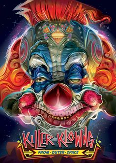 Killer Klowns From Outer Space (Walmart Exclusive) DVD box art